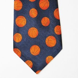 Basketball Sports Dress Necktie
